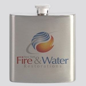 NY Fire & Water Restorations Flask