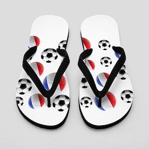 France Soccer Balls Flip Flops