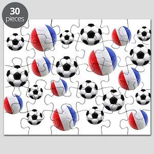 France Soccer Balls Puzzle