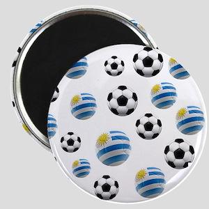 Uruguay Soccer Balls Magnet