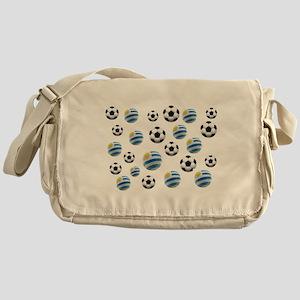 Uruguay Soccer Balls Messenger Bag