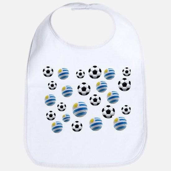 Uruguay Soccer Balls Bib