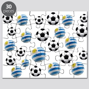 Uruguay Soccer Balls Puzzle