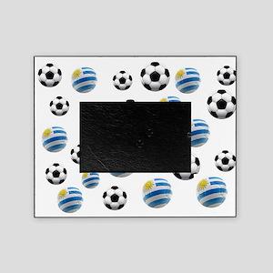 Uruguay Soccer Balls Picture Frame
