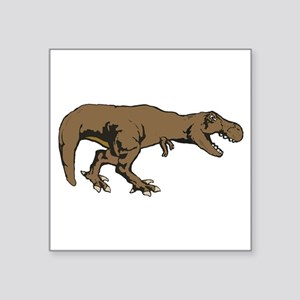 "Tyrannosaurus rex 3 Square Sticker 3"" x 3"""