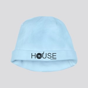 House Vinyl baby hat
