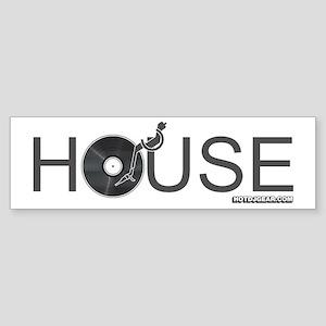 House Vinyl Sticker (Bumper)