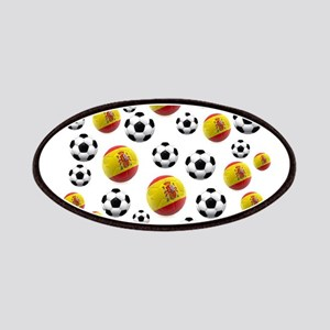 Spain Soccer Balls Patches