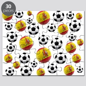 Spain Soccer Balls Puzzle