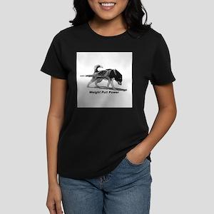 Weight Pull Power Women's Dark T-Shirt