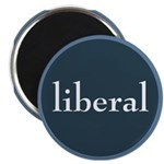 """Liberal 2.25"""" Magnet (10 pack)"""