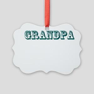 Grandpa Picture Ornament