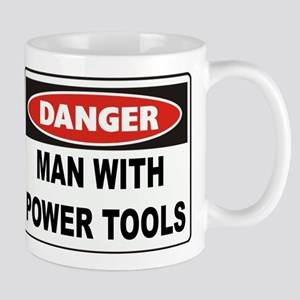 Danger Man With Power Tools Mug
