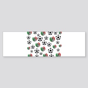 Mexican soccer balls Sticker (Bumper)