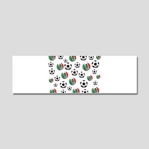 Mexican soccer balls Car Magnet 10 x 3