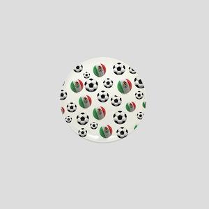Mexican soccer balls Mini Button