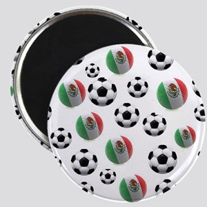 Mexican soccer balls Magnet