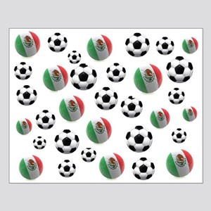 Mexican soccer balls Small Poster