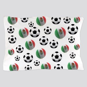 Mexican soccer balls Pillow Case