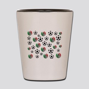 Mexican soccer balls Shot Glass