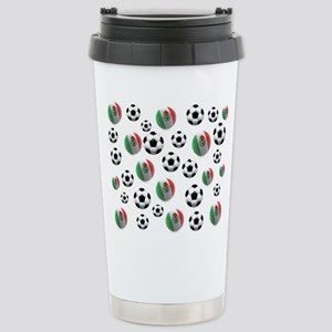 Mexican soccer balls Stainless Steel Travel Mug