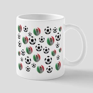 Mexican soccer balls Mug