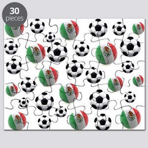 Mexican soccer balls Puzzle