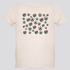Mexican soccer balls Organic Kids T-Shirt