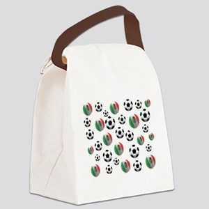 Mexican soccer balls Canvas Lunch Bag