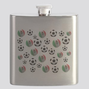 Mexican soccer balls Flask