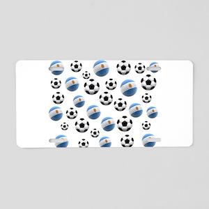 Argentina world cup soccer balls Aluminum License