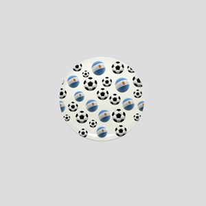 Argentina world cup soccer balls Mini Button