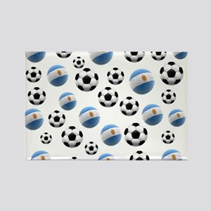 Argentina world cup soccer balls Rectangle Magnet