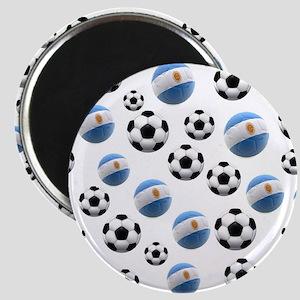 Argentina world cup soccer balls Magnet