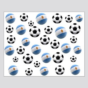 Argentina world cup soccer balls Small Poster
