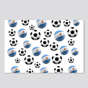 Argentina world cup soccer balls Postcards (Packag