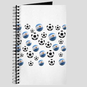 Argentina World Cup Soccer Balls Journal