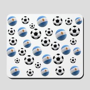 Argentina world cup soccer balls Mousepad