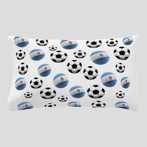 Argentina world cup soccer balls Pillow Case