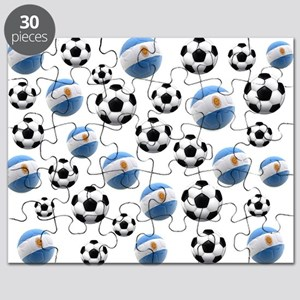 Argentina world cup soccer balls Puzzle