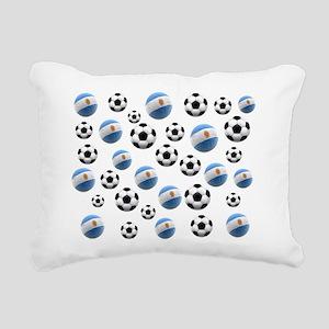 Argentina world cup soccer balls Rectangular Canva