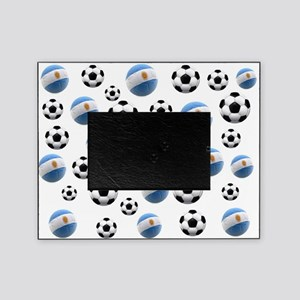 Argentina world cup soccer balls Picture Frame