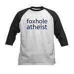 Foxhole Atheist Kids Baseball Jersey