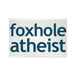 Foxhole Atheist Rectangle Magnet