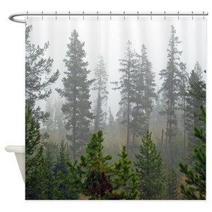 Forest Shower Curtains
