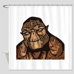 Trollhead Shower Curtain