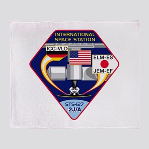 STS-127 Payload Throw Blanket