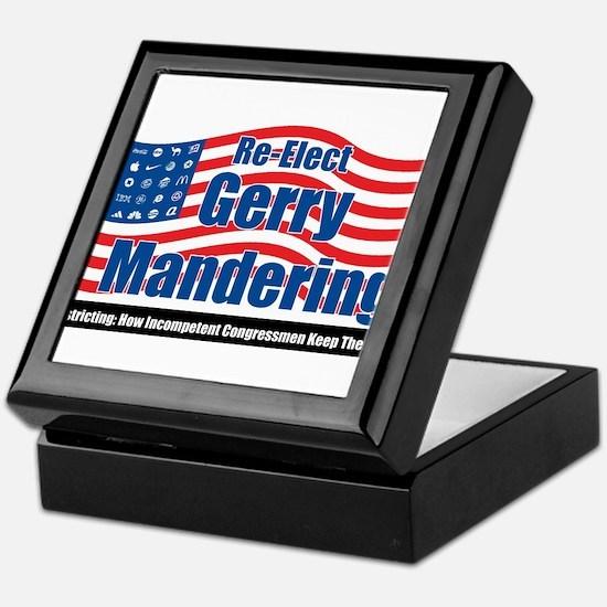 gerrymandering Keepsake Box