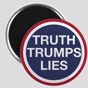 Truth Trumps Lies Magnets