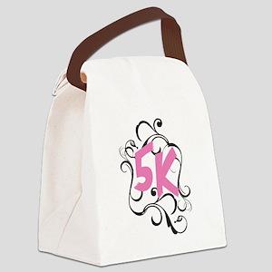 Fancy 5k Canvas Lunch Bag
